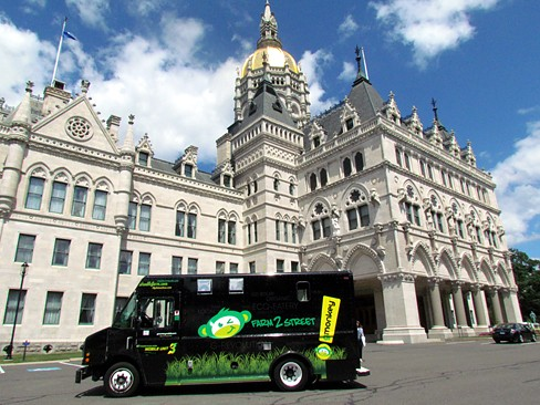 gmonkey truck at ct state capitol